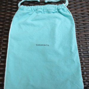 Tiffany & Co Dust Bag ~ DRAWSTRING ~ LOGO ~